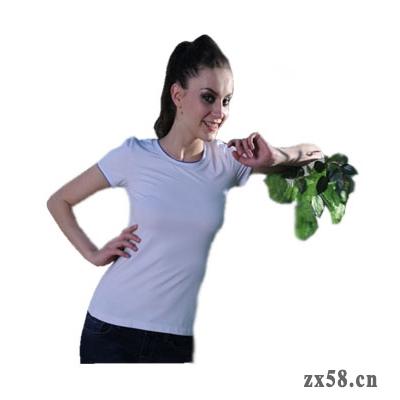 绿之韵女士圆领T恤