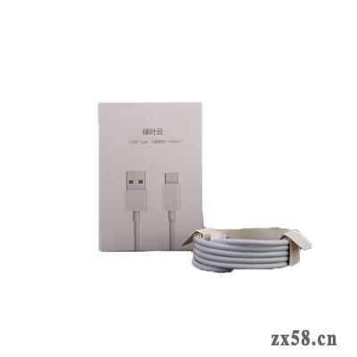 绿叶云1米USB Micro...