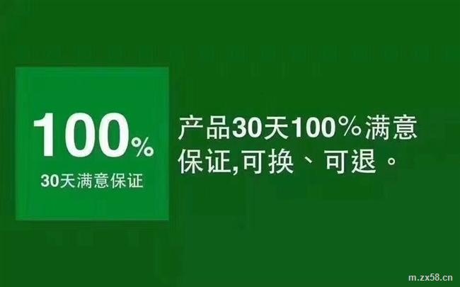 100%满意保证