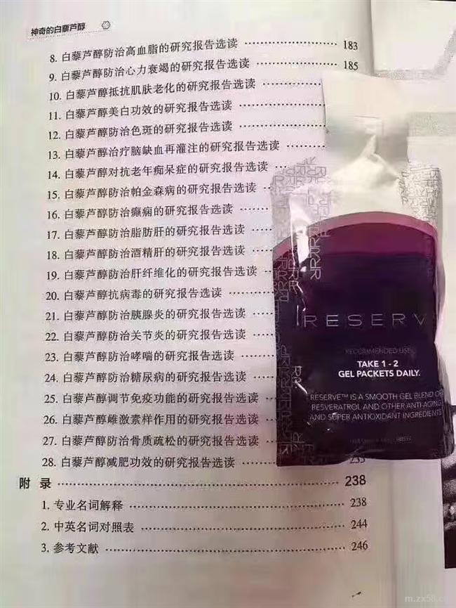 白藜芦醇医学报道