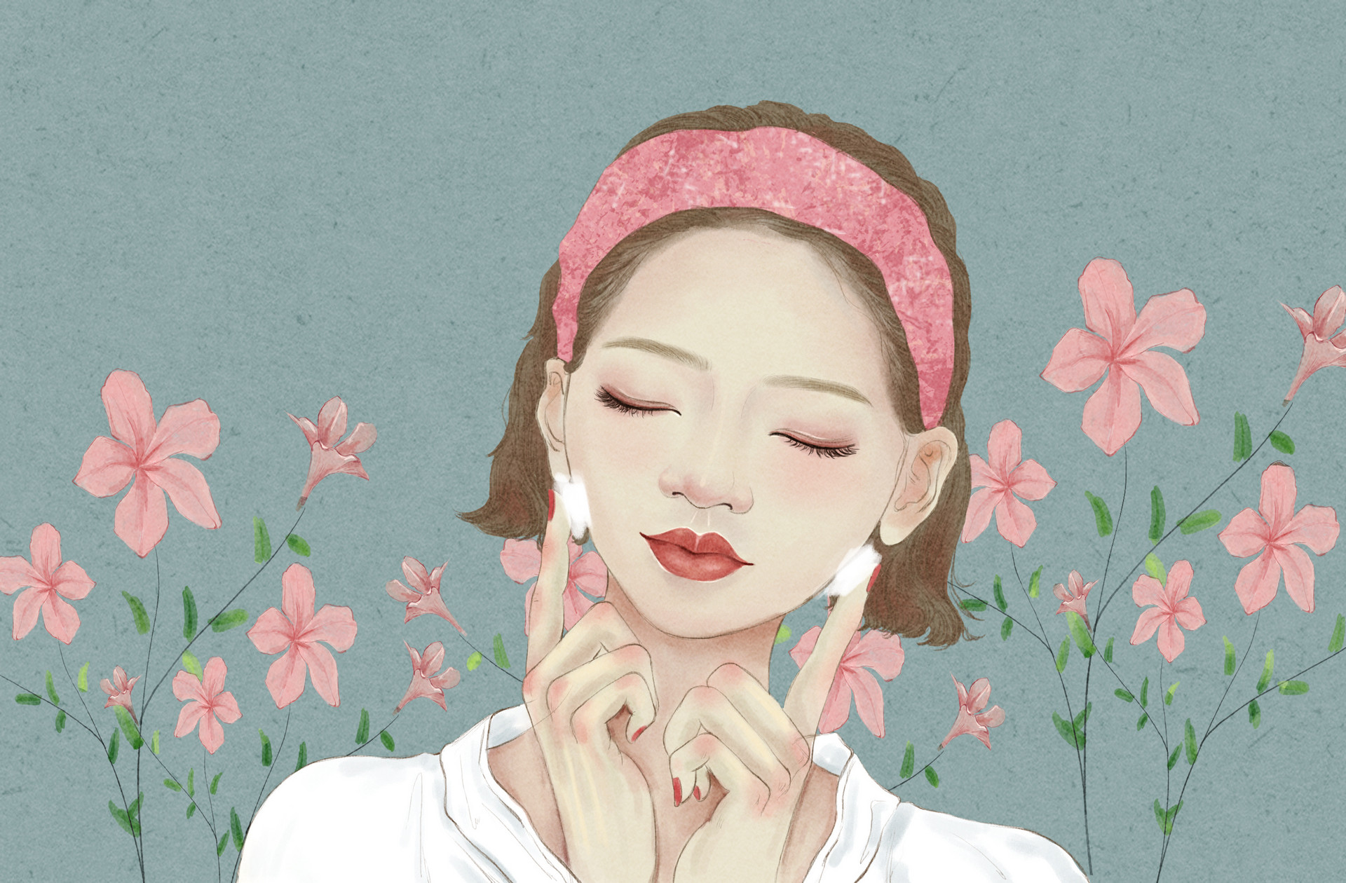 夏天美容养颜有技巧,喝喝茶就能行!