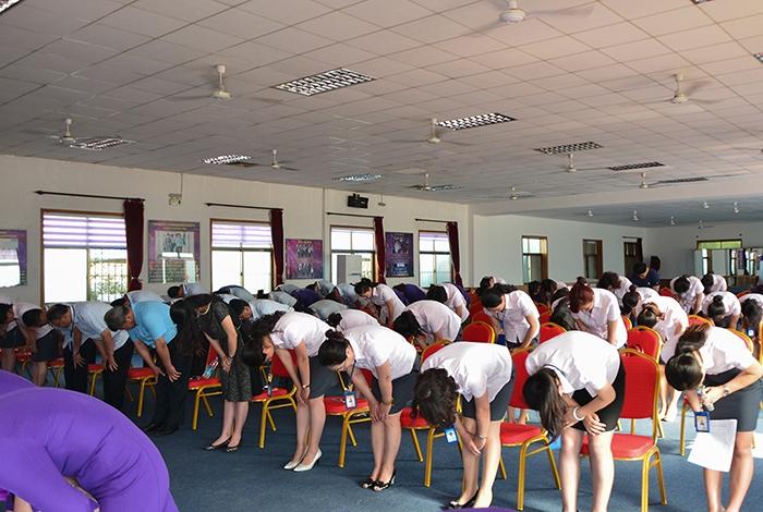 2016年第六期拜员工感恩活动隆重举行