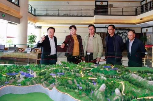 楚雄州政协主席莅临理想科技指导大健康产业发展