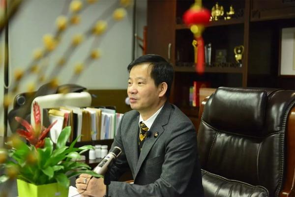 富佑董事长陈怀德:誓与祖国同胞一起打赢这场疫情防控战