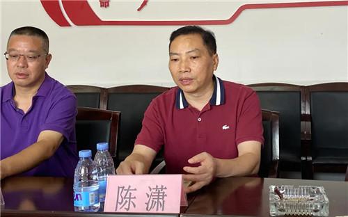 绿之韵胡国安陪同中共湖南省委统战部副部长陈潇一行赴安化调研