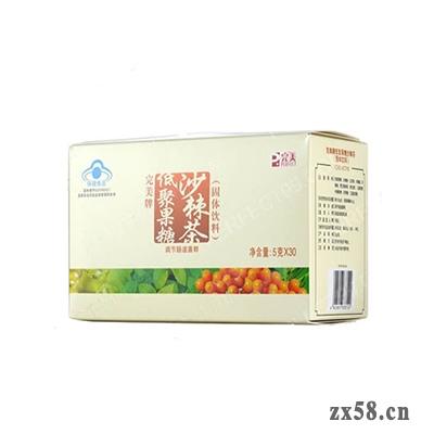 完美牌低聚果糖沙棘茶(固体饮料)(盒)