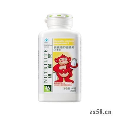 安利纽崔莱®钙镁维D咀嚼片(儿童型)200片