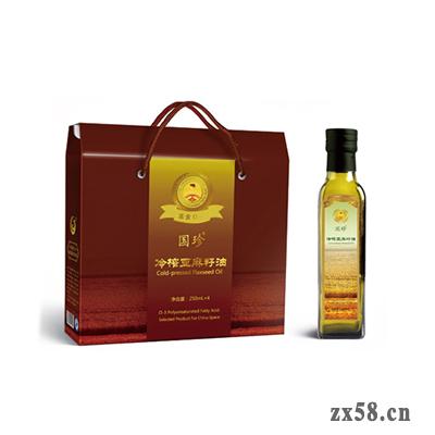 國珍冷榨亞麻籽油(...