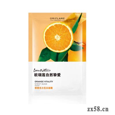 欧瑞莲自然挚爱鲜橙活力亮采面膜(10片)