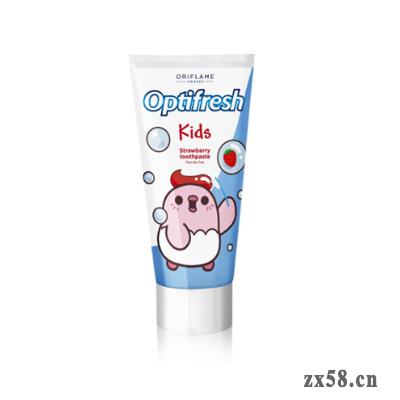欧瑞莲健齿洁儿童牙膏