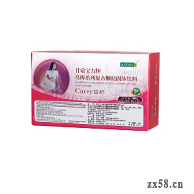 安发甘诺宝力牌乌梅系列复合颗粒固体饮料(苗婷™) CURVE™