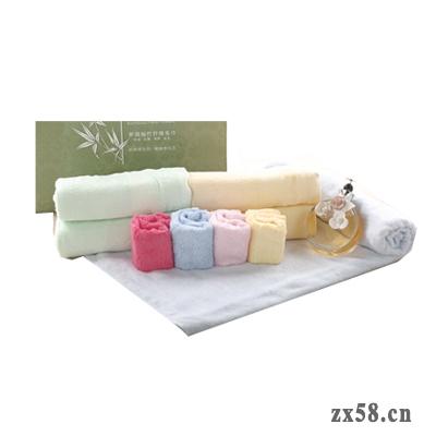 安惠梦瑞福竹纤维毛巾礼盒