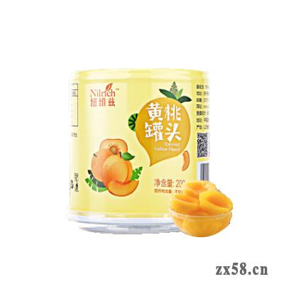 绿叶纽维兹200g黄桃...