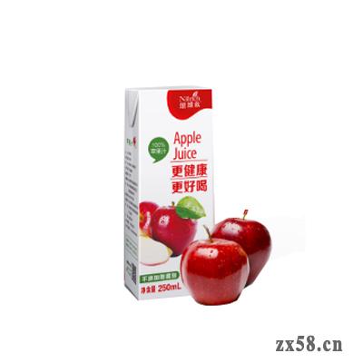 绿叶纽维兹250ml苹果...