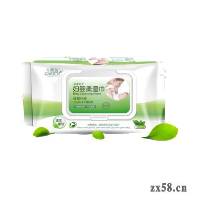 绿叶卡丽施80P妇婴柔湿巾(每箱18包)
