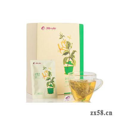 三八妇乐金银花代用茶