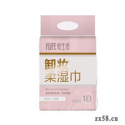 绿叶爱生活卸妆柔湿巾10P