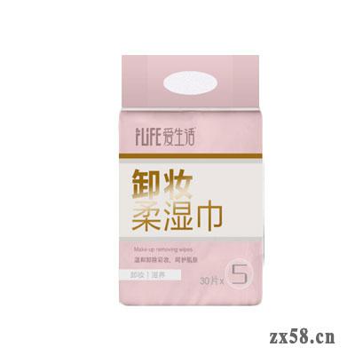 绿叶爱生活卸妆柔湿巾30P