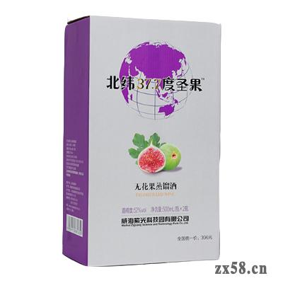 紫光科技52度无花果蒸馏酒(北纬37.7度圣果)