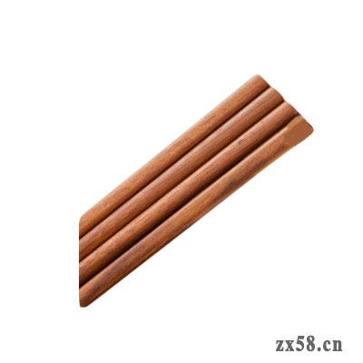 绿叶家得丽铁木筷
