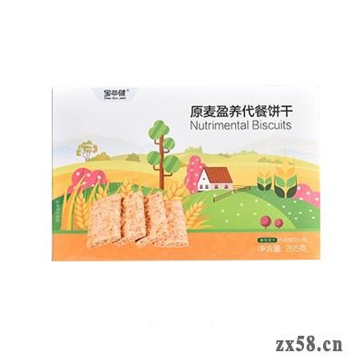 宝健原麦盈养代餐饼干