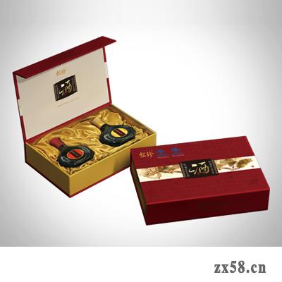 国珍松珍牌酒礼盒
