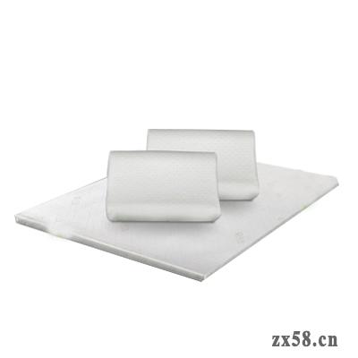 宝健1.8*2m乳胶床垫+2个负离子舒睡枕