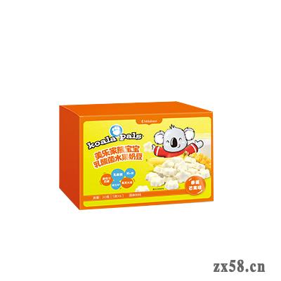 美乐家熊宝宝乳酸菌水果奶豆 – 香蕉芒果味