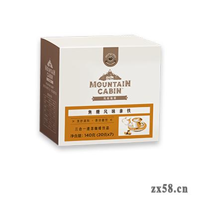 焦糖风味拿铁三合一速溶咖啡饮品