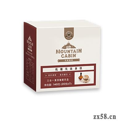 枫糖风味拿铁三合一速溶咖啡饮品