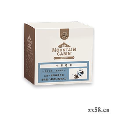 卡布奇诺三合一速溶咖啡饮品