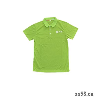 宝健绿色POLO衫