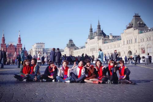 畅游异域 近4000宝健人组团带父母游俄罗斯