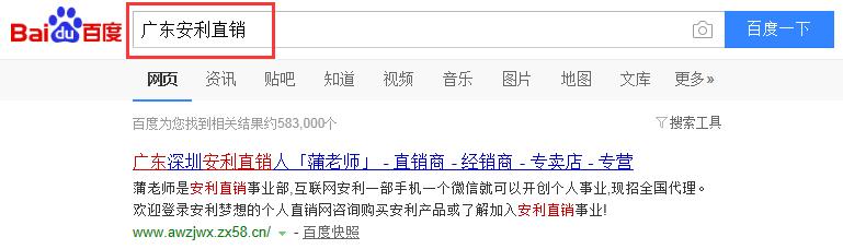 广东安利直销