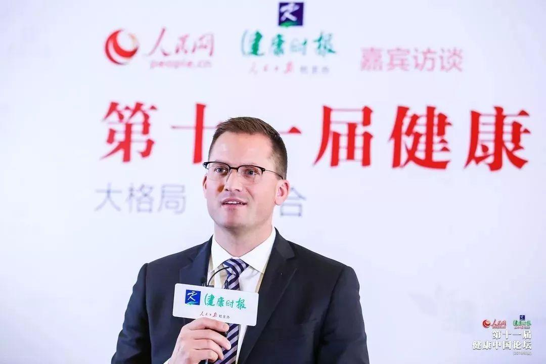 葆婴中国区执行副总裁聂怀禹接受人民日报健康时报专访