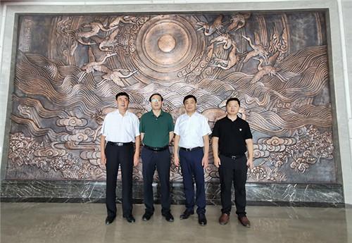 中国菌物学会理事长郭良栋参观安惠园