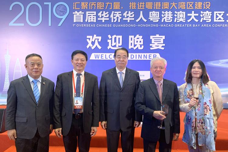 完美公司董事长古润金作为中马两国著名侨领出席活动。