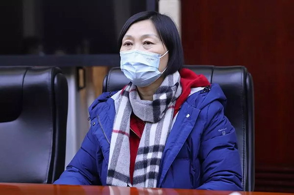新时代总经理张红:做好疫情防控等相关工作