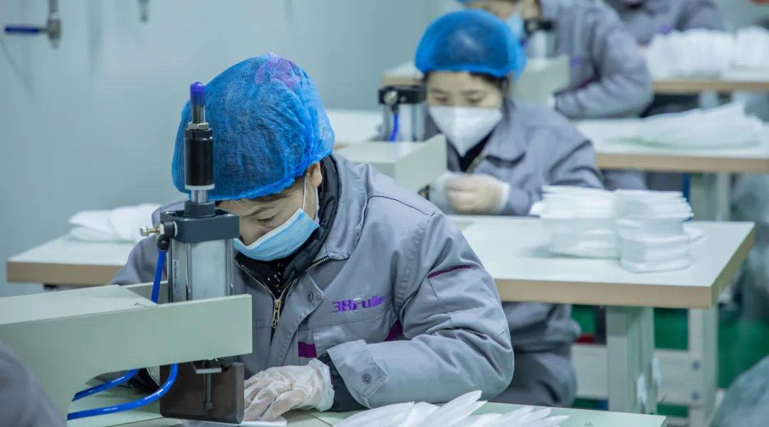 省药监局领导到三八妇乐杨凌生产基地健康产业园调研