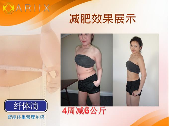 爱睿希(ARIIX)健康快速减肥一个月套餐