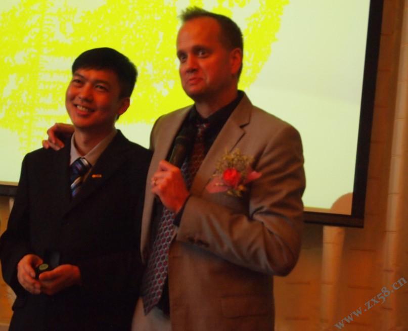 总裁范库伯表彰